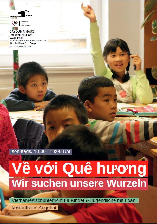Vietnamesischunterricht für Kinder